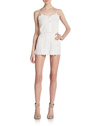 Stone Cold Fox Lansing Short Jumpsuit