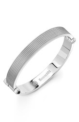Room101 Men's Stainless Steel Bracelet Silver