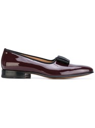 Carvil Belleville Loafers Men Leather Patent Leather 44 Red