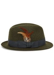 Paul Smith Dark Green Felt Trilby