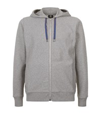 Paul Smith Ps By Zip Front Hoodie Male Grey