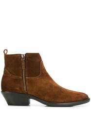 The Seller Panelled Ankle Boots 60