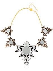 Anisha Parmar London Ivory Collection Triangles Necklace
