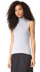Ramy Brook Lisette Sweater Silver