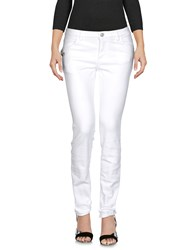 Versus By Versace Jeans White