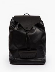 Maison Martin Margiela Black Leather Duffle Backpack