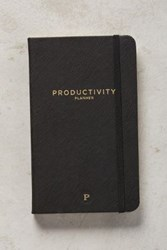 Anthropologie Productivity Planner Black