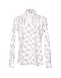 Angelo Nardelli Shirts White