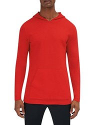 Efm Engineered For Motion Converge Hooded Wool Sweater Deep Orange