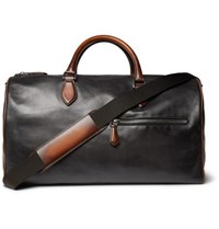 Berluti Jour Off Mm Leather Holdall Black