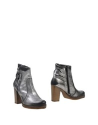 Manas Design Manas Ankle Boots Silver