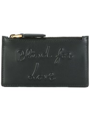 Gucci Blind For Love Embossed Coin Pouch Black