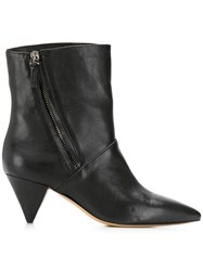 The Seller Pointed Ankle Boots Black
