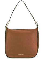 Michael Michael Kors Large 'Raven' Hobo Tote Brown