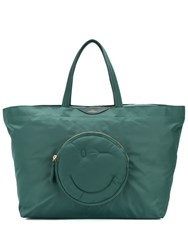 Anya Hindmarch Chubby Wink Large Tote Green