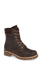 Bos. And Co. Hero Waterproof Hiker Boot Dark Brown Leather