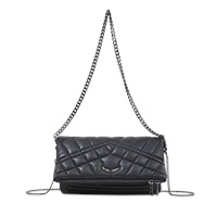 Zadig And Voltaire Rock Quilted Clutch
