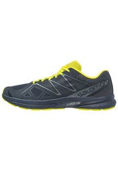 Salomon Sonic Pro 2 Neutral Running Shoes Navy Blazer Sulphur Spring Ombre Blue Dark Blue