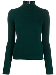 Paul Smith Ribbed Roll Neck Jumper 60