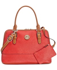 Giani Bernini Saffiano Gift Dome Satchel Only At Macy's