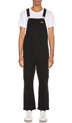 Levi's Premium Hi Ball Overall In Black.