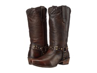 Roper Studded Brown Cowboy Boots