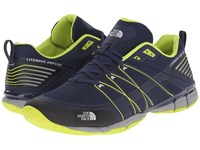 The North Face Litewave Ampere Cosmic Blue Latern Green Men's Shoes