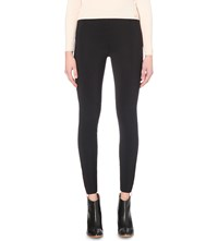 Ted Baker Lizah Biker Detail Jersey Leggings Black
