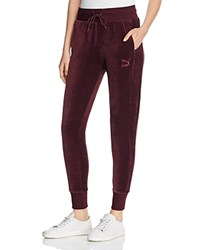 Puma Velour Track Pants Winetasting