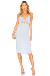 Privacy Please Hibiscus Midi Blue