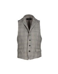 Boss Black Vests Grey
