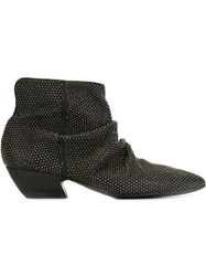 Marsa Ll Studded Ankle Booties Black
