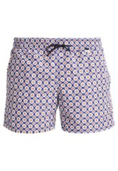 Hom Puerto Rico Swimming Shorts Navy Blue