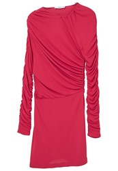 Mango Wrapped Acetate Gown Pink
