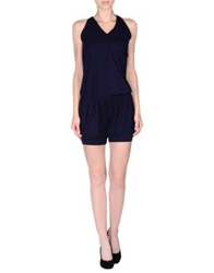 Elisabetta Franchi For Celyn B. Short Overalls Dark Blue