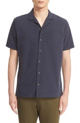 Wings Horns Men's Cotton Camp Shirt