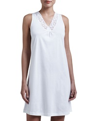 Hanro Moments Tank Gown White White X Small 4 6