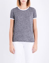 Wildfox Couture Johnny Ringer Jersey T Shirt Heathered Black