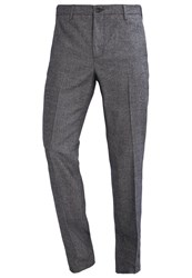 United Colors Of Benetton Suit Trousers Navy Dark Blue