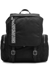 Calvin Klein 205W39nyc Flap Backpack Black
