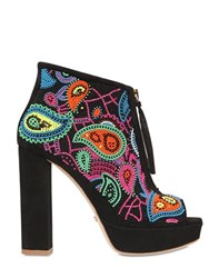 Jerome C.Rousseau 110Mm Coco Embellished Suede Boots