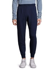 Ag Jeans Textured Sweatpants Navy