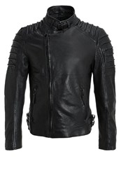 Gipsy Malloy Leather Jacket Black