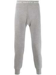 Bally Knitted Track Pants Grey