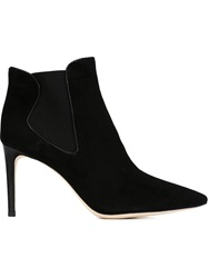 Tory Burch Pointed Toe Booties Black