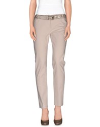 Andrea Morando Trousers Casual Trousers Women Beige
