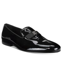 Roberto Cavalli Men's London Patent Loafers Men's Shoes Black