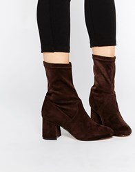 Asos Ruby Ankle Boots Brown