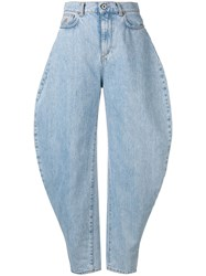 Attico High Waisted Jeans Blue