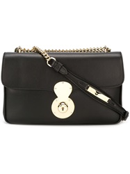 Ralph Lauren 'Ricky' Chain Shoulder Bag Black